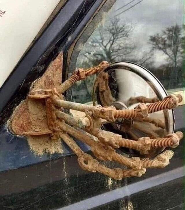 Когда вы просите сварщика что-нибудь починить