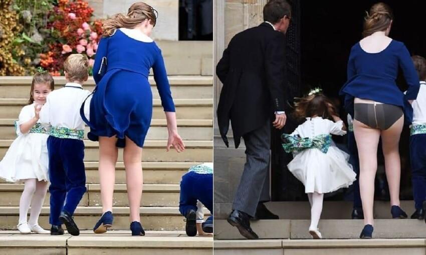 Британская королевская свадьба и Леди Луис Филипс