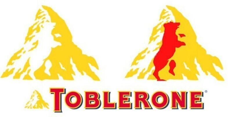 А вы знали, что на логотипе шоколада Toblerone изображен медведь?