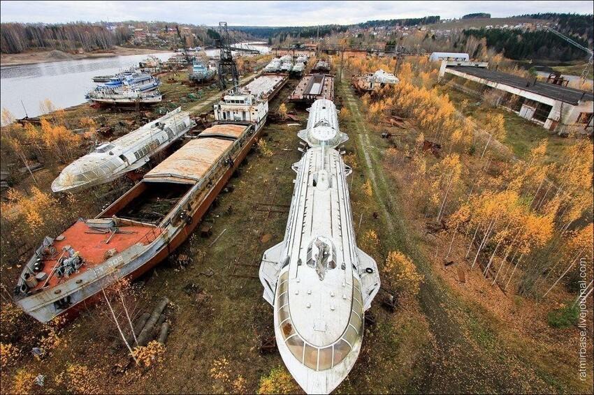 Кладбище кораблей в Перми