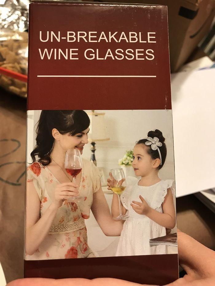 Винные бокалы для семьи