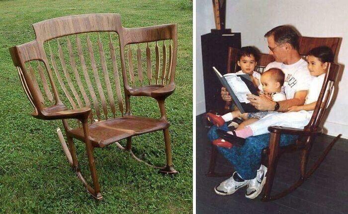 Кресло, незаменимое для семьи с детьми