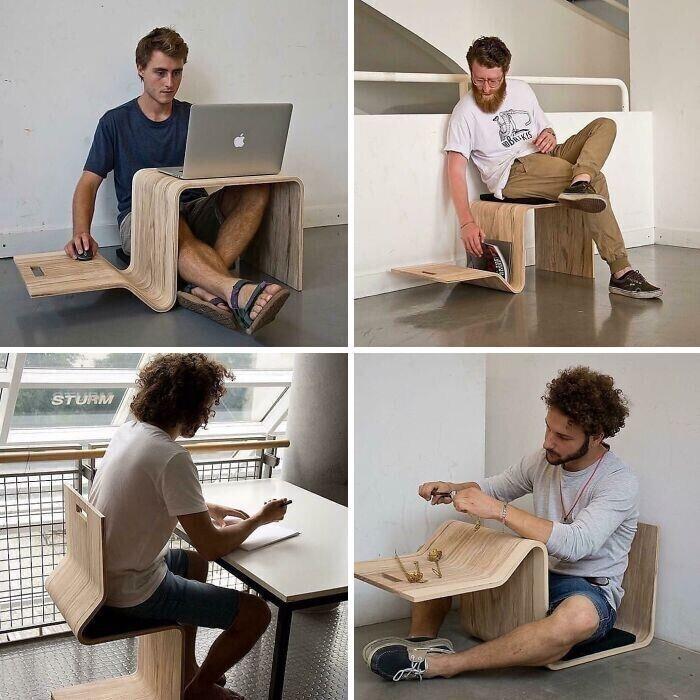 Многофункциональный столо-стул