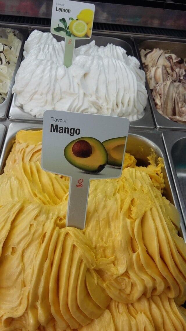 Ну, вообще-то это авокадо