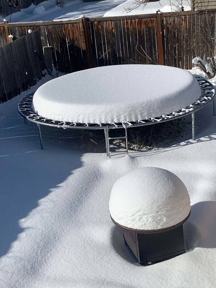 Идеальное снежное покрытие