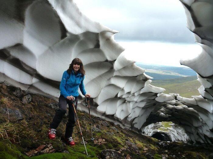 Последний снег ушедшей зимы - Карн Бан Мор, Шотландия