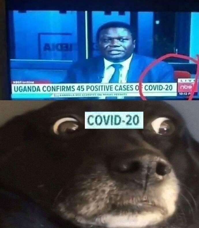Уганда сообщает о 45 подтвержденных случаев COVID-20