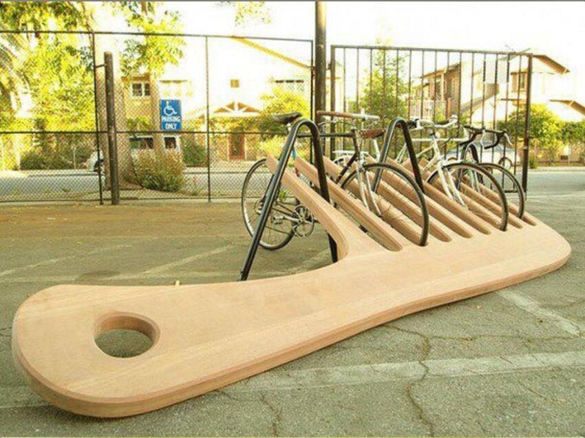 И велосипед поставить приятно