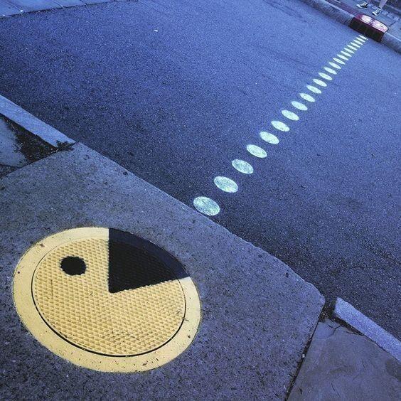 Простой пешеходный переход вдруг становится достопримечательностью