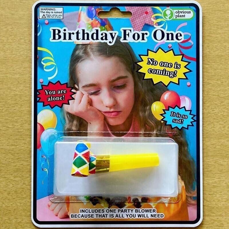 Набор для празднования дня рождения в одиночестве