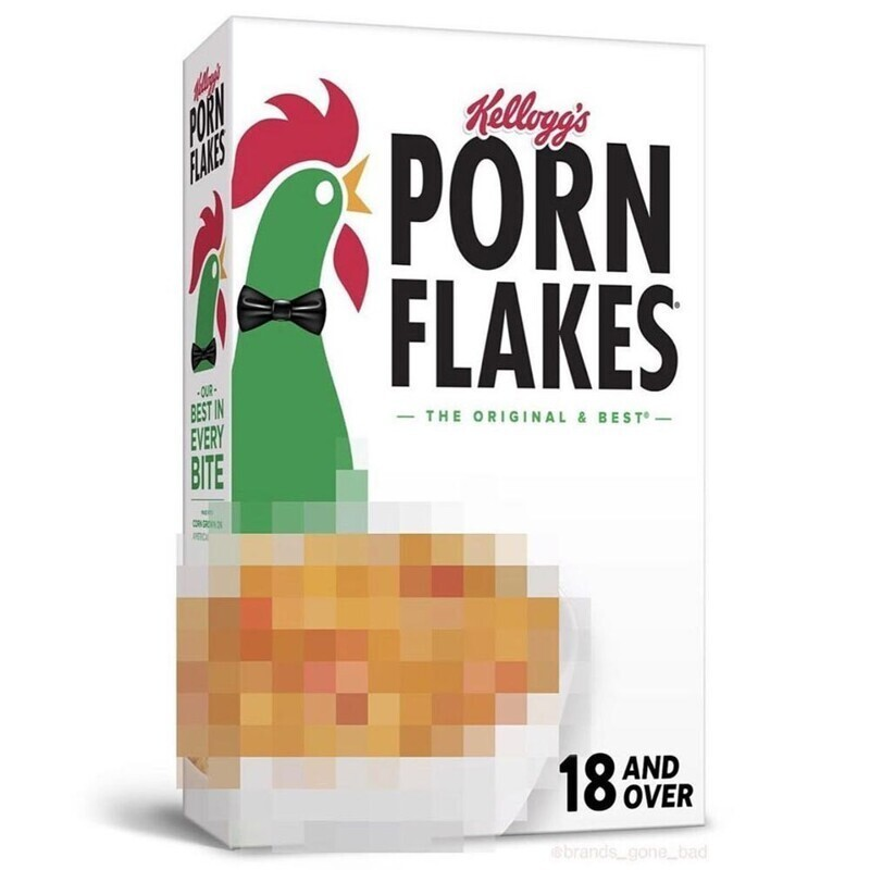 Порно-хлопья на завтрак. Только для взрослых