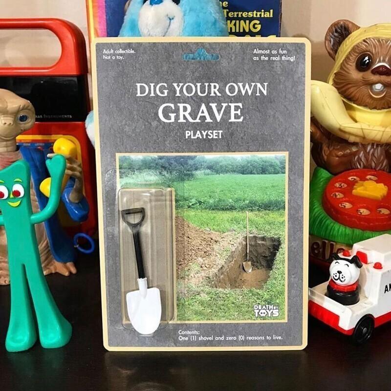 """Игровой набор """"Вырой собственную могилу"""""""