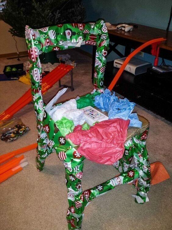 Чемпионы по творческой упаковке подарков