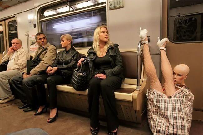 Самые яркие персонажи из общественного транспорта