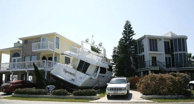 Последствия цунами?