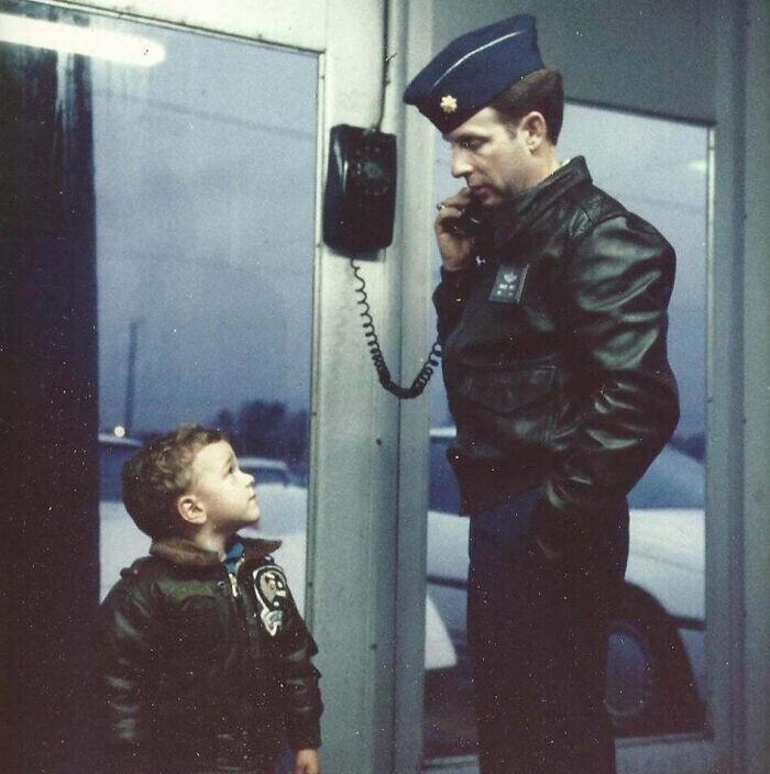 """""""Конец 1980-х. Я и мой папа - военный летчик"""""""