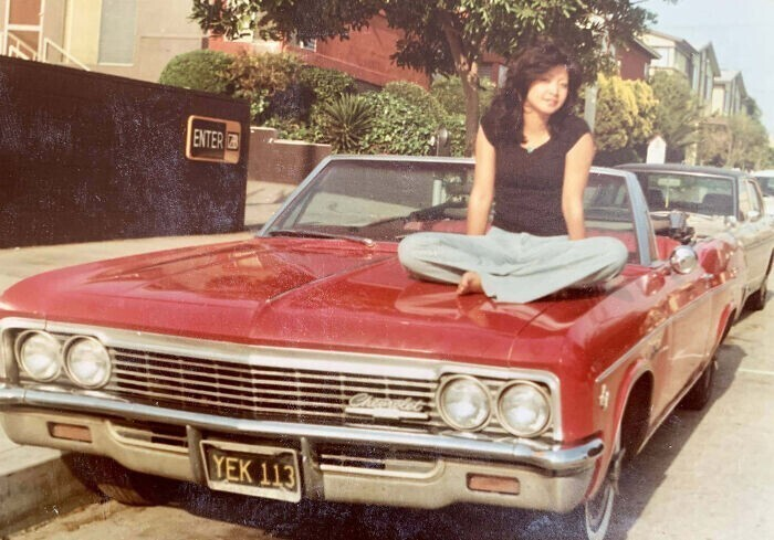 """""""Моя мама в 1978-м иммигрировала в США из Японии. Она несколько месяцев работала, как проклятая - и сумела купить это Chevrolet Impala за $500"""""""