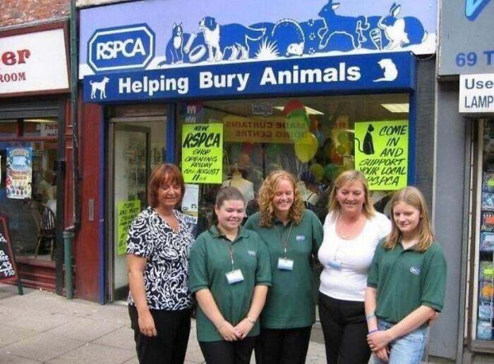 """""""Помогаем животным города Бёри"""" = """"Помогаем хоронить животных"""""""
