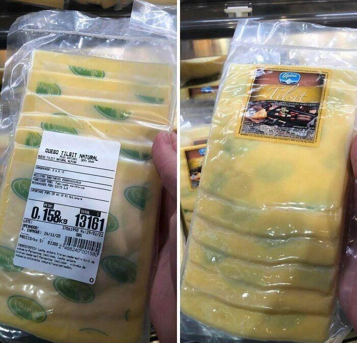 Упаковка для тех, кто предпочитает сыр с плесенью