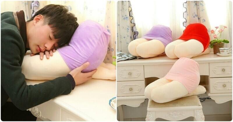 Для особых ценителей полежать на женских коленях создали даже специальные подушки