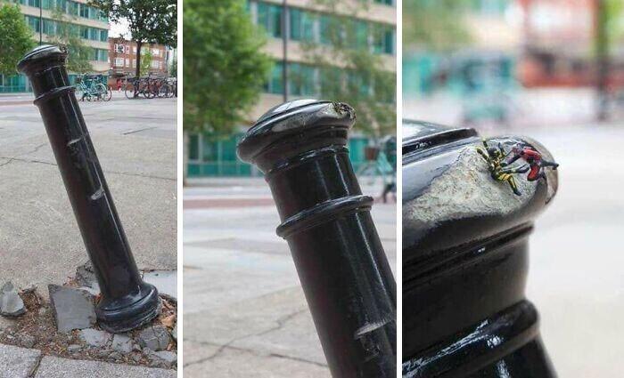 Хотите знать, кто это сделал? Присмотритесь! Вон он, человек-муравей!