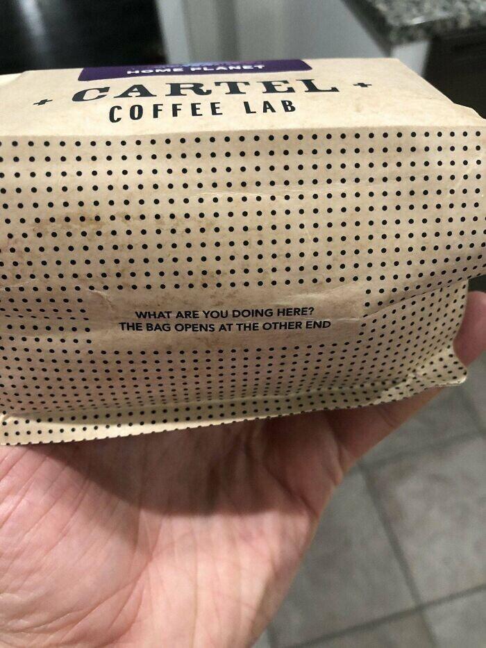 Стоило взглянуть на дно бумажной сумки, чтобы увидеть это