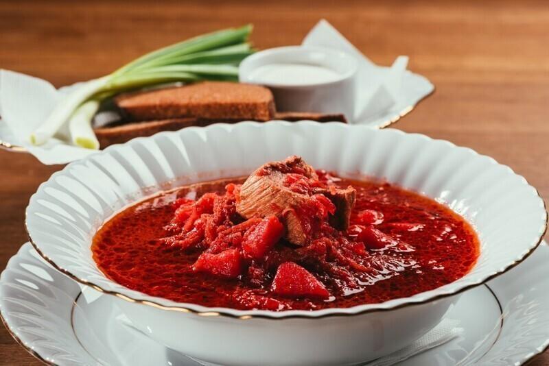 Суп как первое блюдо
