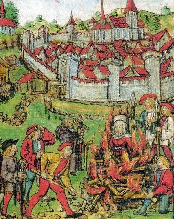 Заблуждение 2: женщин, уличенных в ведьмовстве, непременно тут же убивали