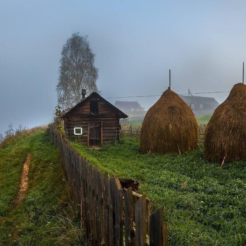 Пост привязанности к русской деревне