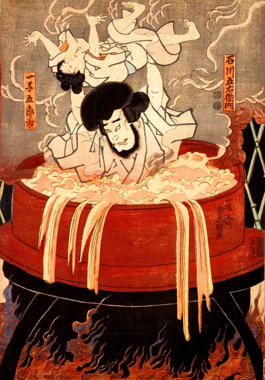 В 1637 году в Японии был принят закон, запрещавший японцам выезд за границу. За нарушение этого закона предусматривалась смертная казнь