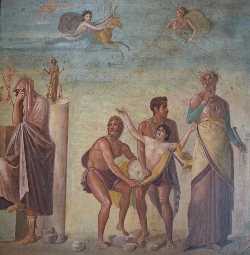 Смертная казнь полагалась также за жертвоприношение другим богам