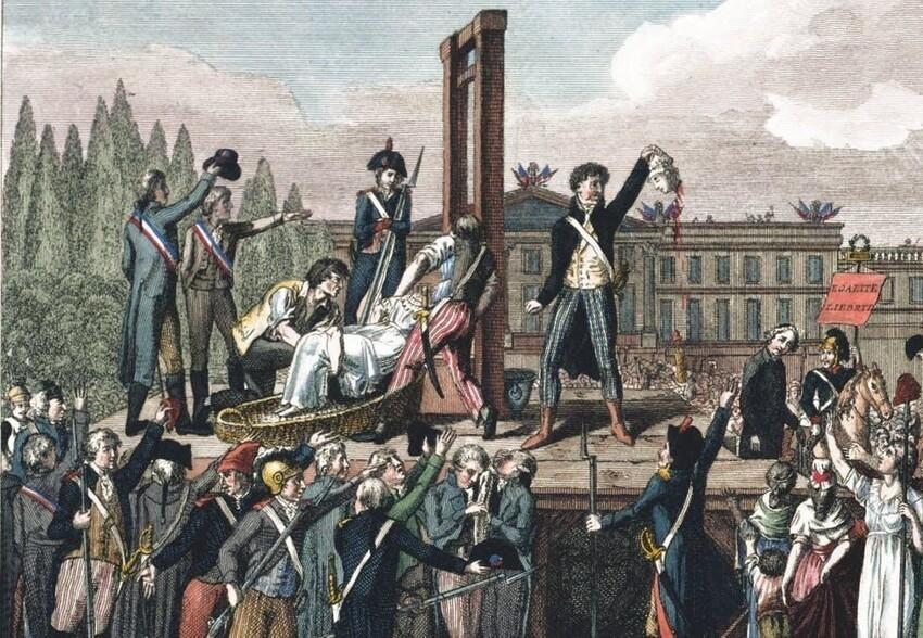Во Франции при короле Карле VI казнили всех, кто произносил позорные ругательства