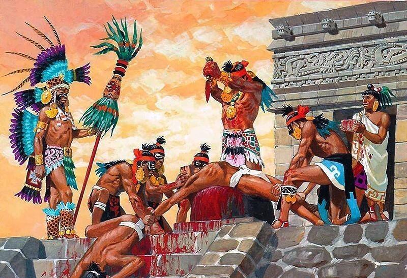 """Майя казнили часто и буквально за все подряд. Например у них была особая """"полиция"""" которая следила за высказыванием народа. За искажение исторической правды полагалась смертная казнь"""