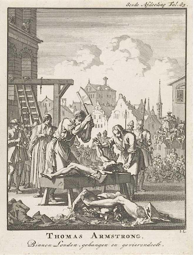 За что могли казнить в Англии XVIII века