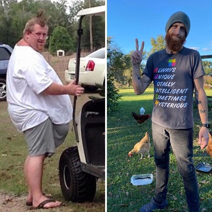 """""""Врачи говорили мне, что я не доживу до сорока. Я весил 225 кг. Теперь мне сорок и я похудел на 160 кг"""""""