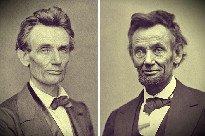 Авраам Линкольн до и после Гражданской войны