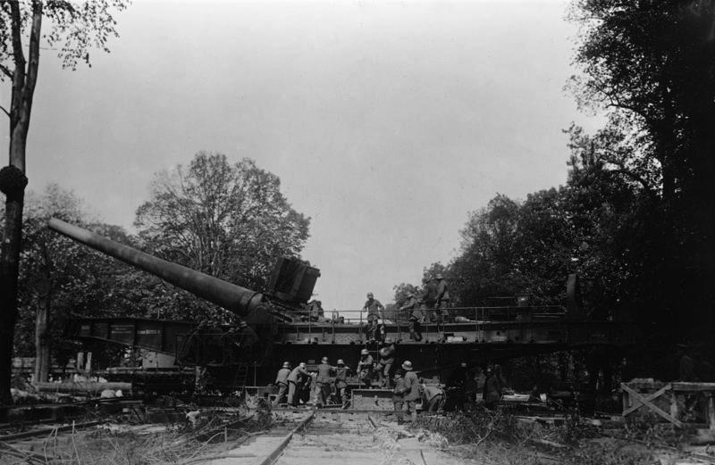 38 cm SK L/45 «Max» — немецкая тяжёлая осадная и береговая пушка времён Первой мировой войны, железнодорожное орудие калибра 38 см