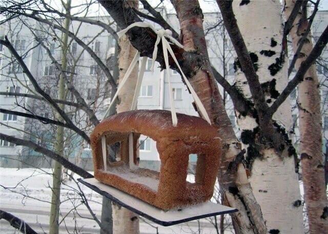 Дом для птичек