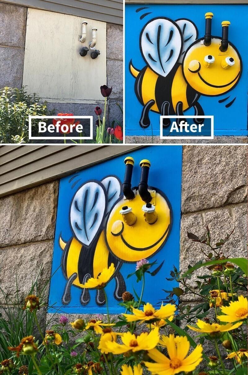 Будьте добрыми, как эта пчелка