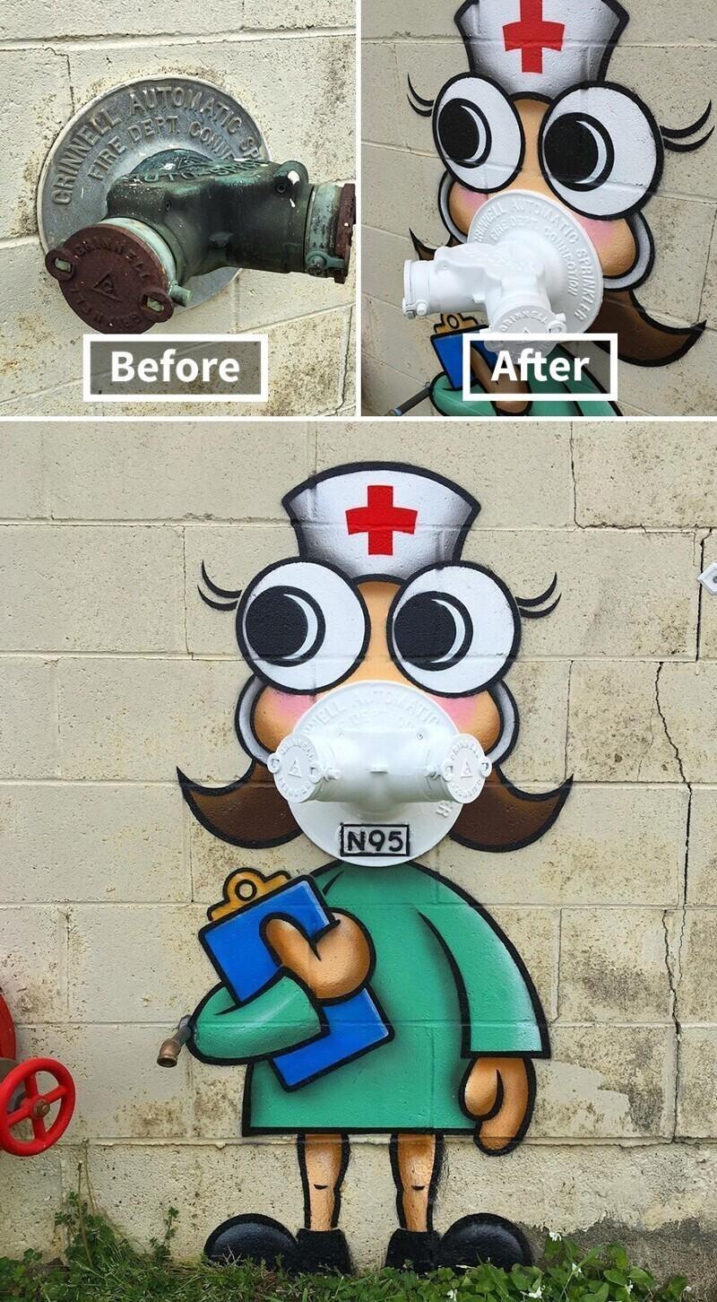 Медсестры всегда присматривают за нами