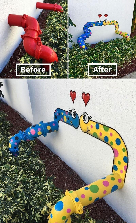 Влюбленные змейки