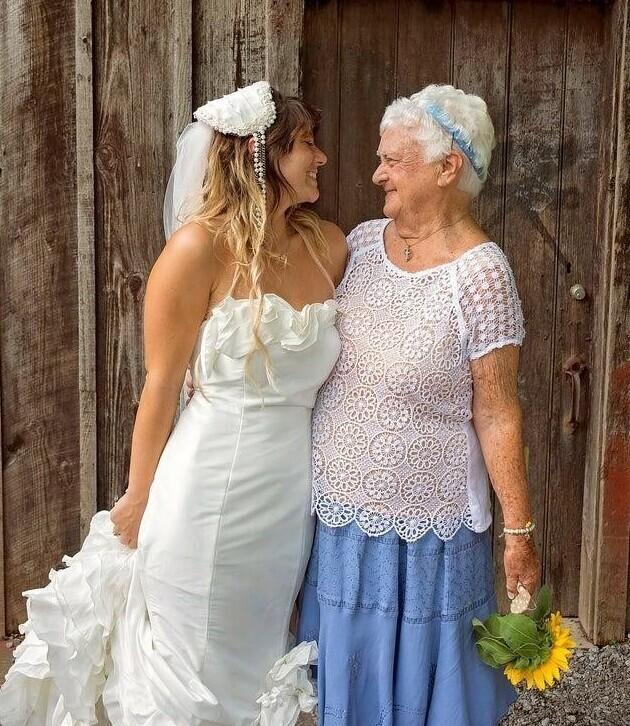Моя девяностолетняя бабушка будет самой лучшей подружкой невесты!