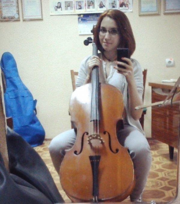 Я всегда мечтала учиться в музыкальной школе. Мне двадцать, и я исполнила свою мечту