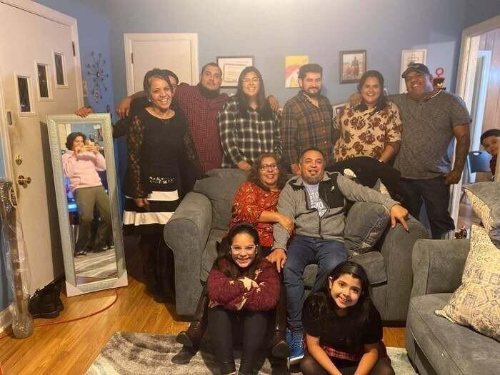 На фото должна быть вся семья!