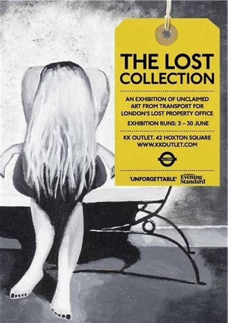 Выставка «Бюро находок» в лондонской подземке