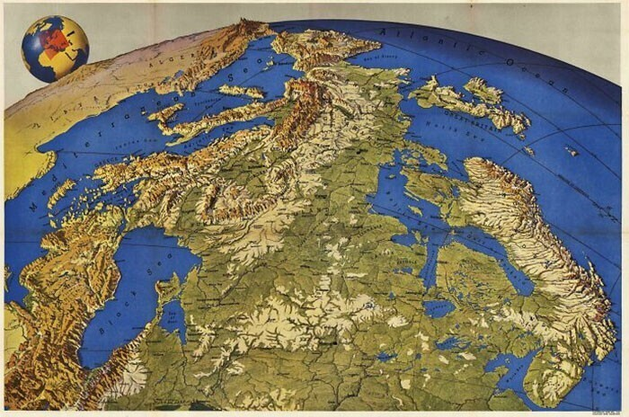 Европа какой она видна из России