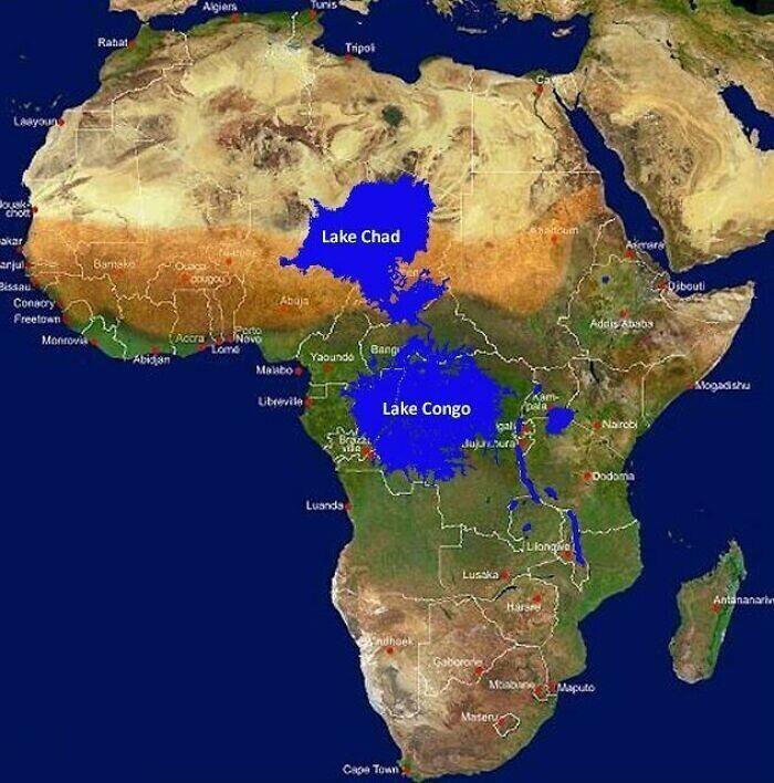 Что произойдет, если запрудить устье реки Конго