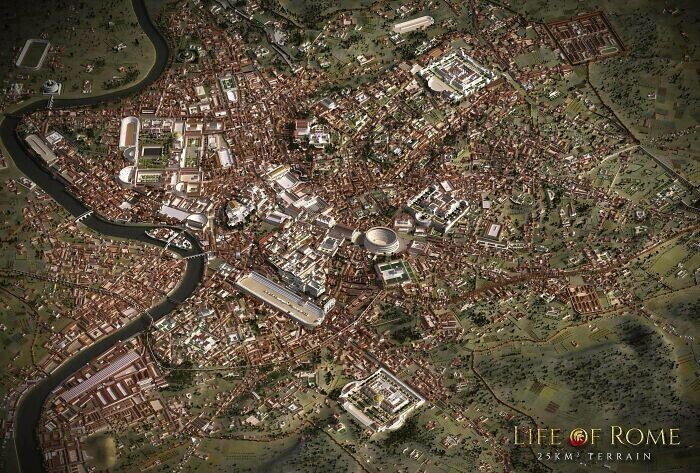 Точная модель Рима времен империи