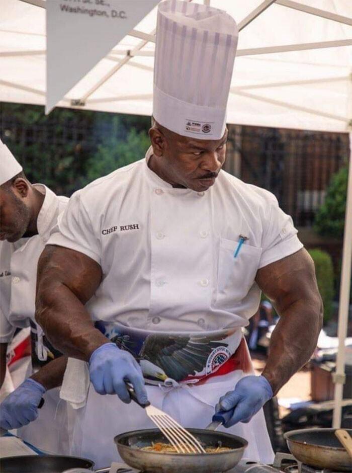 Андре Раш, шеф-повар Белого Дома