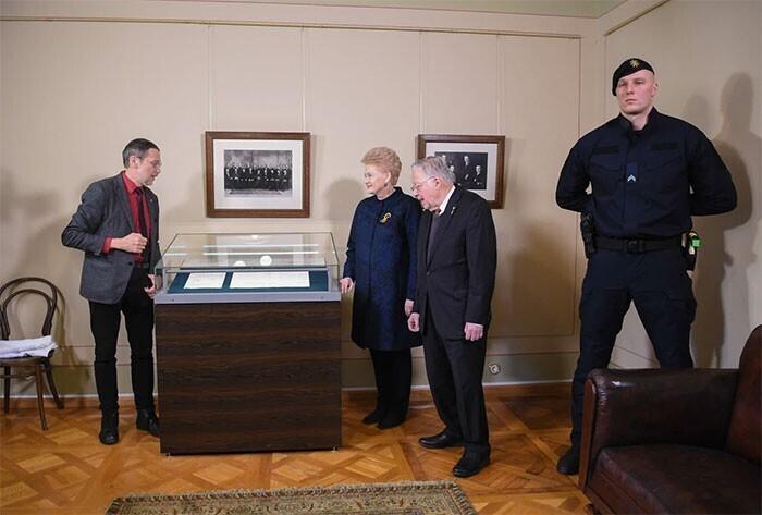 Литовский охранник, рядом с которым чувствуешь себя в безопасности